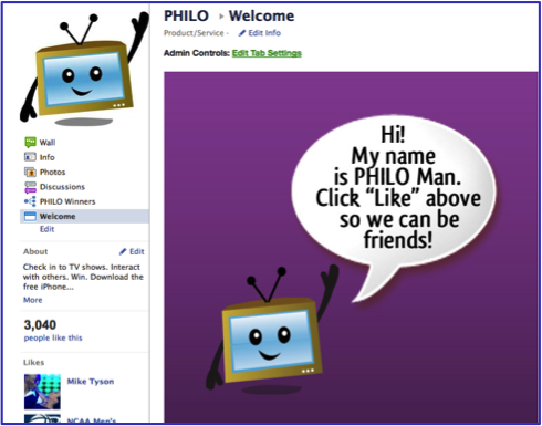 social media marketing Philo FB2